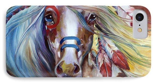 Fearless Indian War Horse IPhone Case