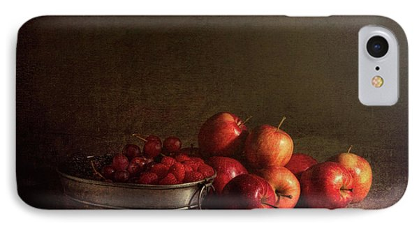 Raspberry iPhone 7 Case - Feast Of Fruits by Tom Mc Nemar