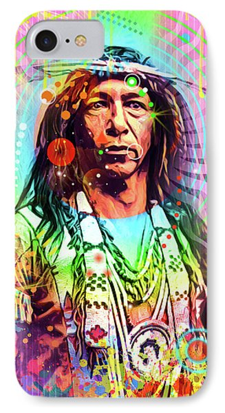 Feather Chief IPhone Case by Gary Grayson