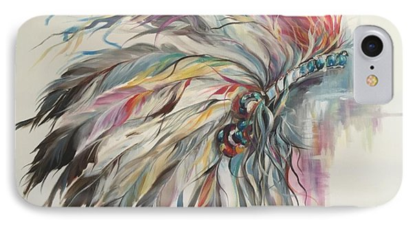 Feather Hawk IPhone Case by Heather Roddy
