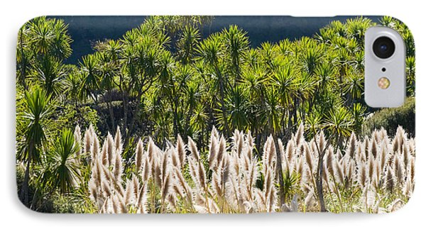 Feathery White Plants IPhone Case by Tomas del Amo - Printscapes