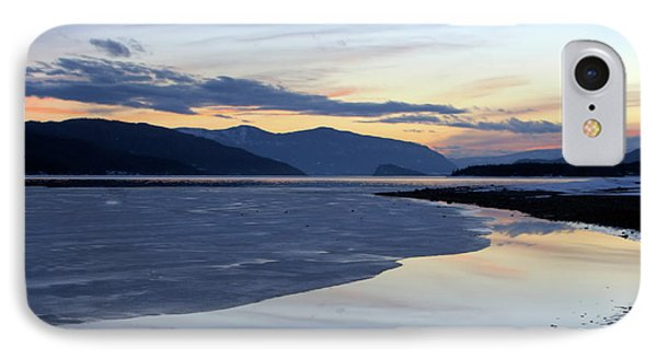 February At Dusk 5 IPhone Case by Victor K