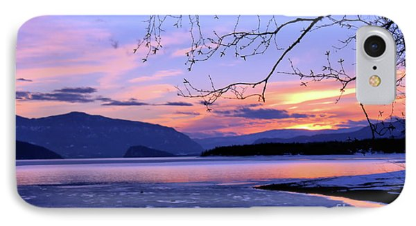 February Sunset 2 IPhone Case by Victor K