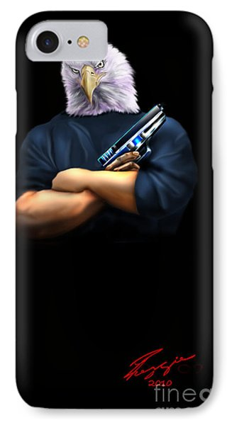 Fed Up 2 Phone Case by Reggie Duffie