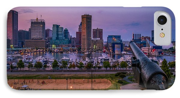 Federal Hill In Baltimore Maryland IPhone Case by Susan Candelario