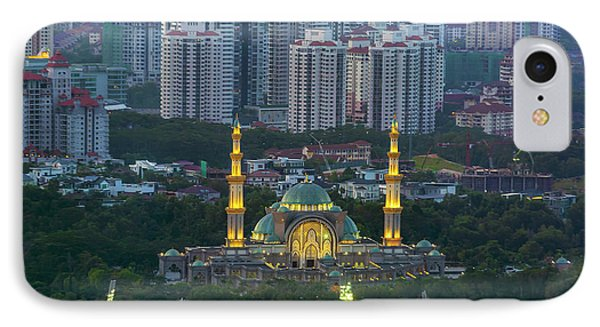 Federal Territory Mosque Phone Case by David Gn