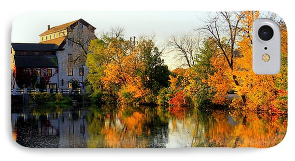 Feed Mill Fall Glow IPhone Case