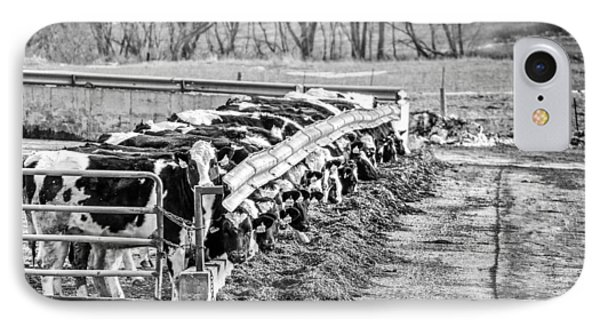 IPhone Case featuring the photograph Feedlot by Dan Traun