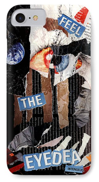 Feel The Eyedea Phone Case by Lindsey Cormier
