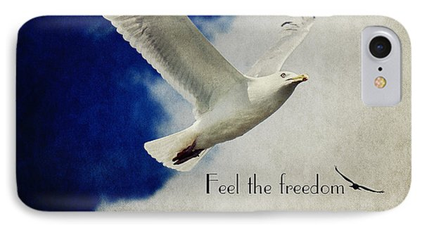 Feel The Freedom Phone Case by Angela Doelling AD DESIGN Photo and PhotoArt