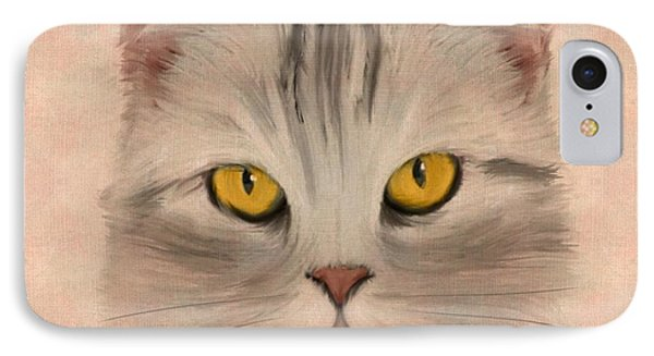 Felis Catus IPhone Case by John Edwards