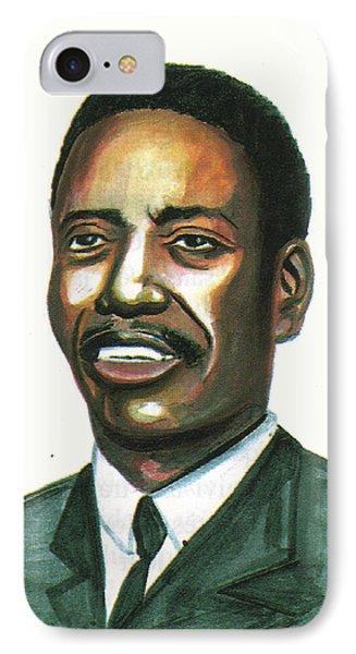 Felix Roland Moumie IPhone Case by Emmanuel Baliyanga