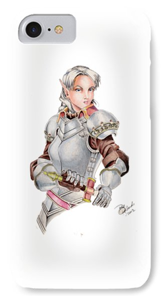 Female Elf Phone Case by Bill Richards