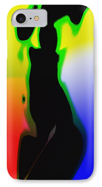 Female In Color One IPhone Case