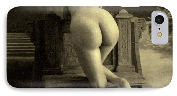 Female Nude, Circa 1900 IPhone Case by French School