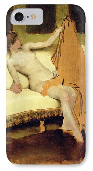 Female Nude IPhone Case by Sir Lawrence Alma-Tadema
