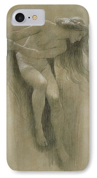Female Nude Study  IPhone Case