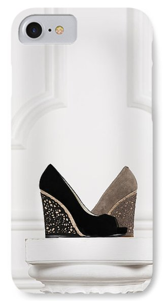 IPhone Case featuring the photograph Female Shoes by Andrey  Godyaykin