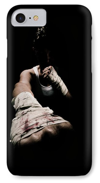 Female Toughness Phone Case by Scott Sawyer