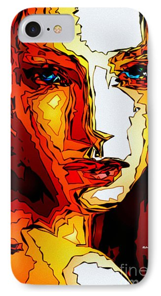 Female Tribute II IPhone Case by Rafael Salazar