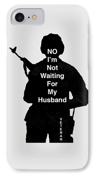 IPhone Case featuring the photograph Female Veteran by Melany Sarafis