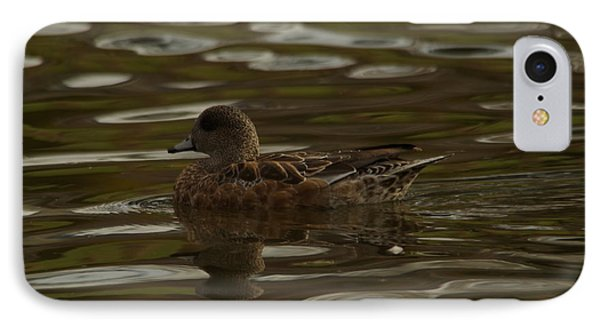 IPhone Case featuring the photograph Female Wigeon by Jeff Swan
