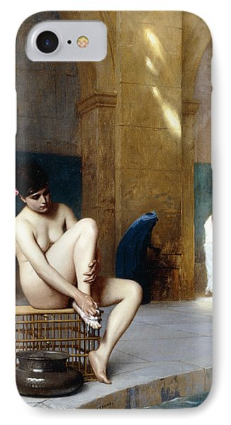 Femme Nue IPhone Case by Jean Leon Gerome