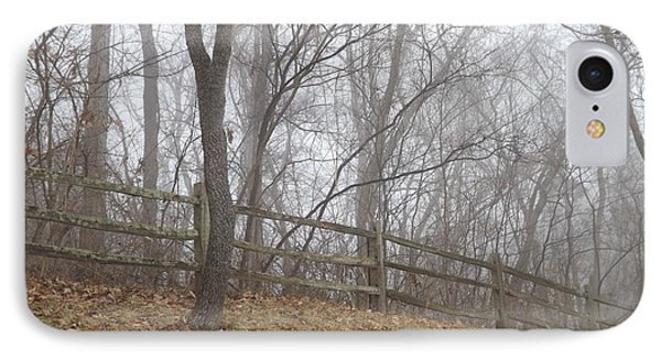 Fence And Fog IPhone Case