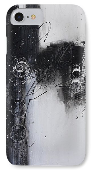 Fence On A Snowy Day IPhone Case