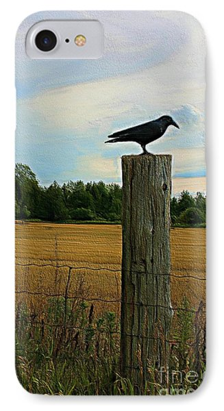 Fence Watcher IPhone Case by Anthony Djordjevic