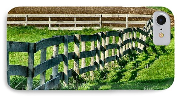 Fences And Shadows IPhone Case