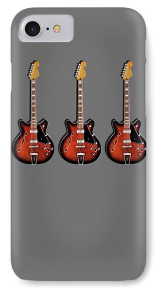 Fender Coronado IPhone Case by Mark Rogan