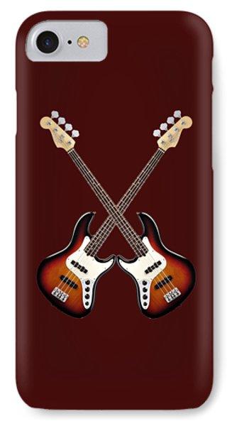 Fender Jazz Bass Lefty Phone Case by Doron Mafdoos