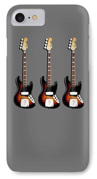 Fender Jazzbass 74 IPhone 7 Case by Mark Rogan