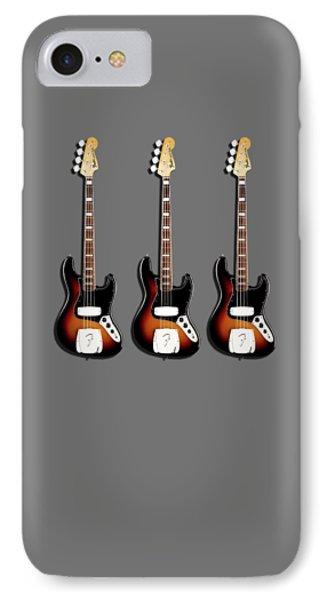 Fender Jazzbass 74 IPhone Case by Mark Rogan