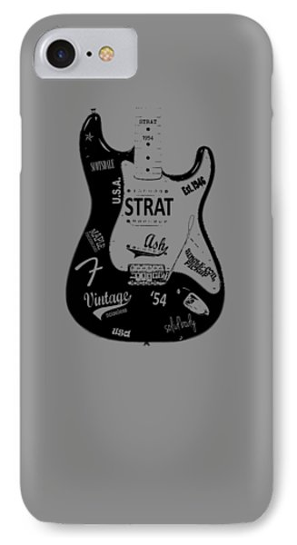 Fender Stratocaster 54 IPhone 7 Case by Mark Rogan