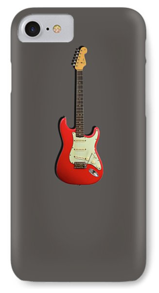 Fender Stratocaster 63 IPhone Case by Mark Rogan