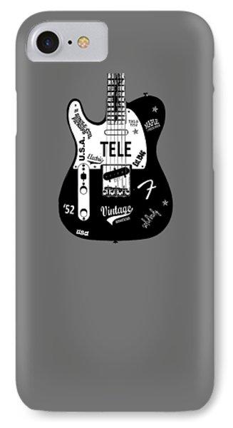 Fender Telecaster 52 IPhone Case by Mark Rogan