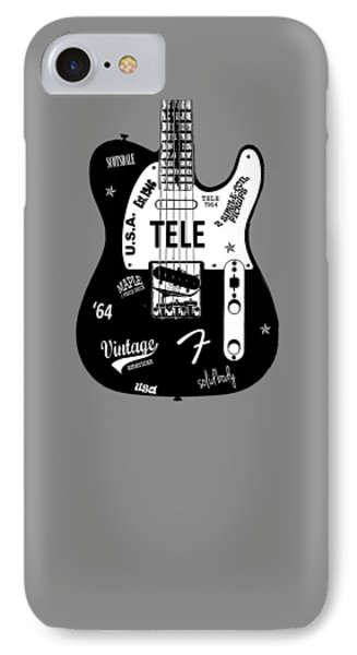 Fender Telecaster 64 IPhone 7 Case by Mark Rogan