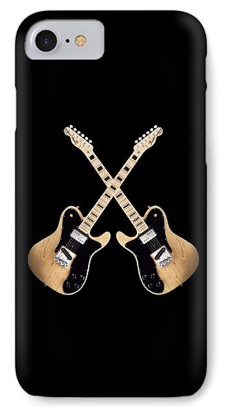 Fender Telecaster Custom Phone Case by Doron Mafdoos