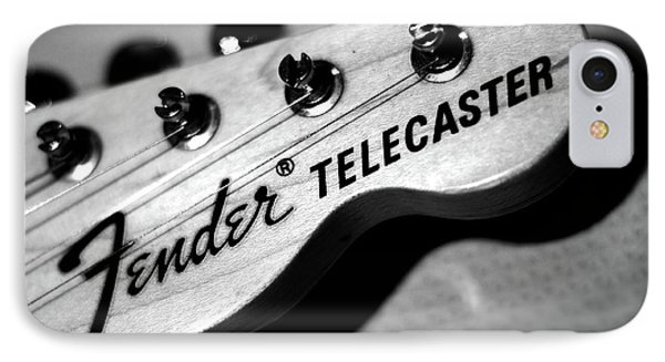 Fender Telecaster IPhone Case by Mark Rogan