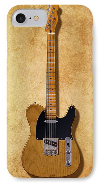 Fender Telecaster Since 1950 IPhone Case by WB Johnston