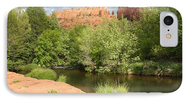 Feng Shui In Sedona IPhone Case by Carol Groenen