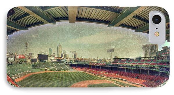 Fenway Park Ball Park - Boston Red Sox IPhone Case by Joann Vitali