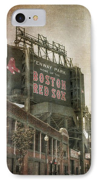 Fenway Park Billboard - Boston Red Sox IPhone Case by Joann Vitali