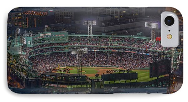 Fenway Park IPhone Case by Bryan Xavier