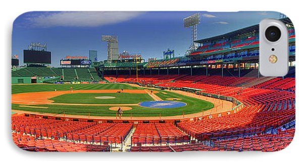 Fenway Park Interior Panoramic - Boston IPhone Case