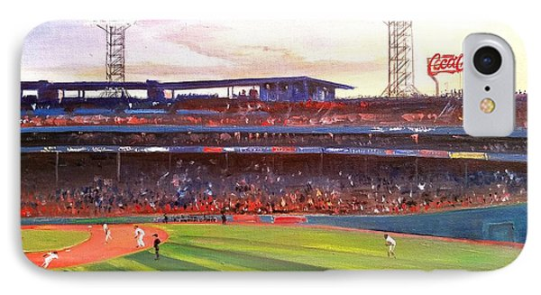 Fenway Park IPhone Case by Rose Wang
