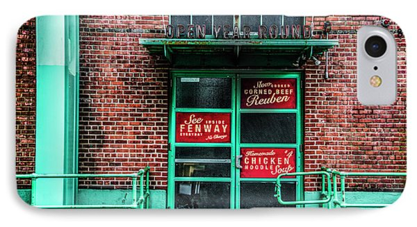 Fenway Park - The Bleacher Bar IPhone Case by Bill Cannon