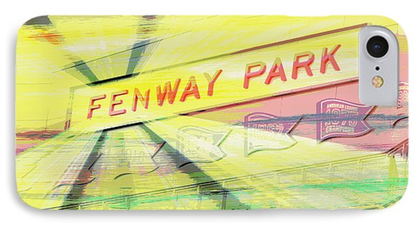 Fenway Park V2 IPhone Case by Brandi Fitzgerald